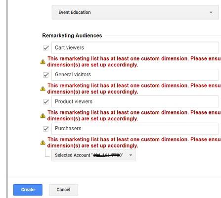 remarketing audiences 2