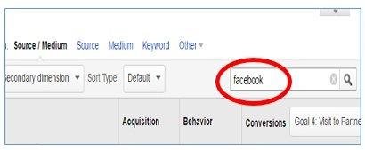 facebook referral traffic type facebook