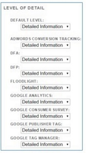 ga ip filter detailed information