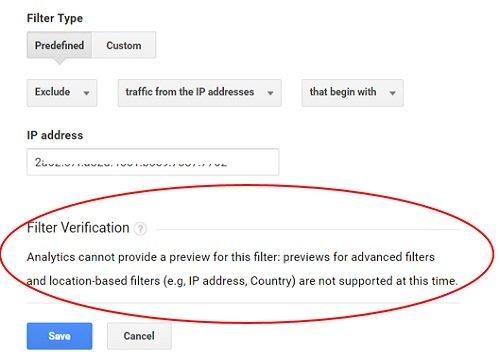 ga ip filter filter verification