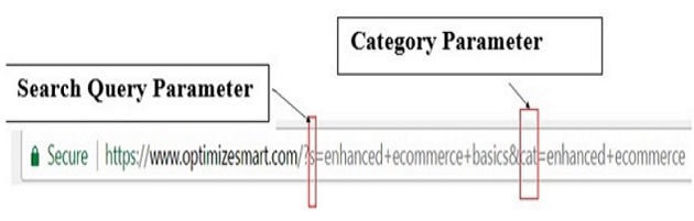 search query parameter