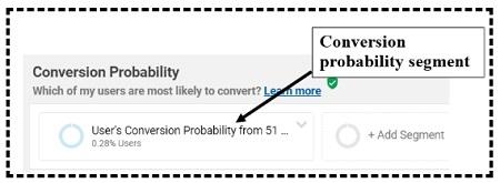 conversion probability segment2