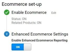 enhanced ecommerce tracking shopify ecommerce settings2