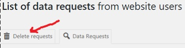 list of data requests2