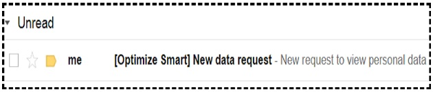 new data request