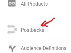 Postbacks in Google Analytics