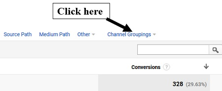 channel groupings