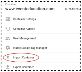 import container link