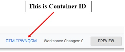 How to get Google Tag Manager (GTM) Container ID?