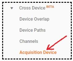 acquisition device report