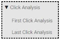 click analysis reports