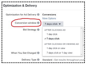 facebook sales conversion data optimization and delivery
