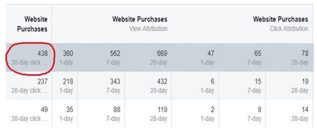facebook sales conversion data website purchases2