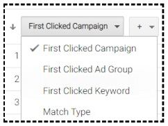 first clicked campaign