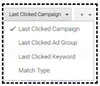 last clicked campaign