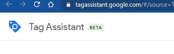Tag Assistant Beta