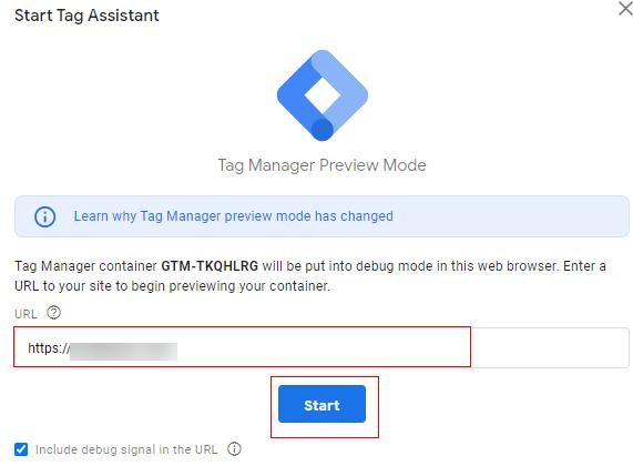 send client id gtm preview 1