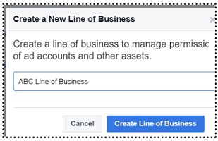 create a new line of business