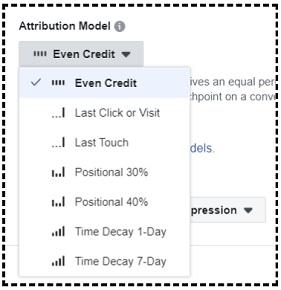 Facebook Attribution Models