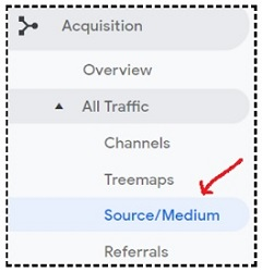 source medium report google analytics 1