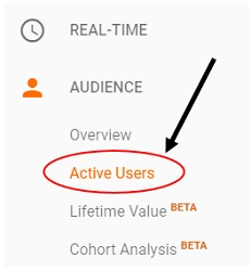 active users report active users 2