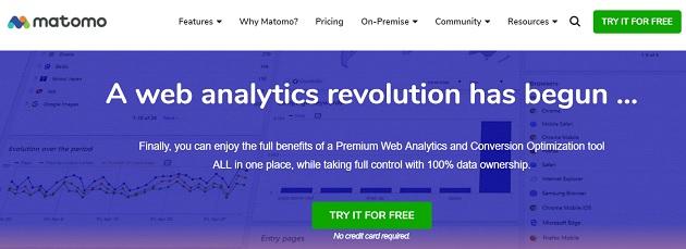 Best Google Analytics Alternatives In 2019 - Matomo & Piwik Pro