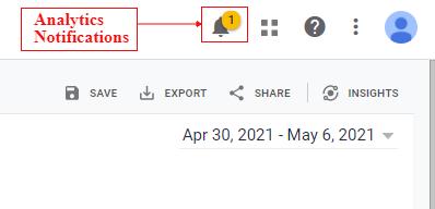 Analytics Notifications