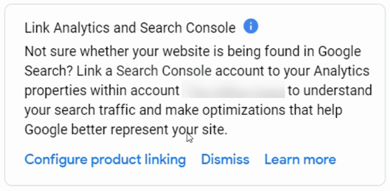 Link Analytics and Search Console