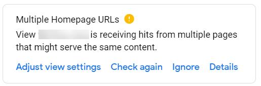 Multiple Homepage URLs