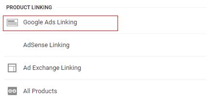 ads linking