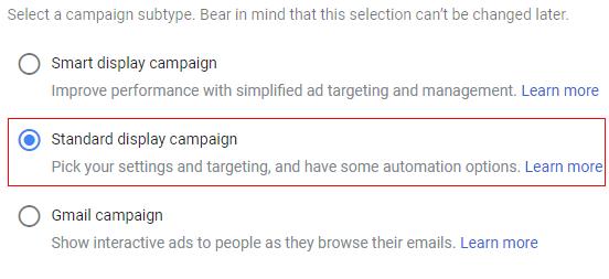 custom campaign