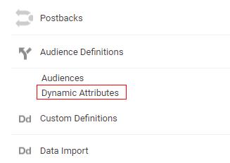 dynamic attribute 1