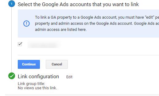 google ads analytics dont match Link Configuration