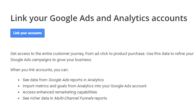 google ads analytics dont match Linking Google Ads and Analytics account