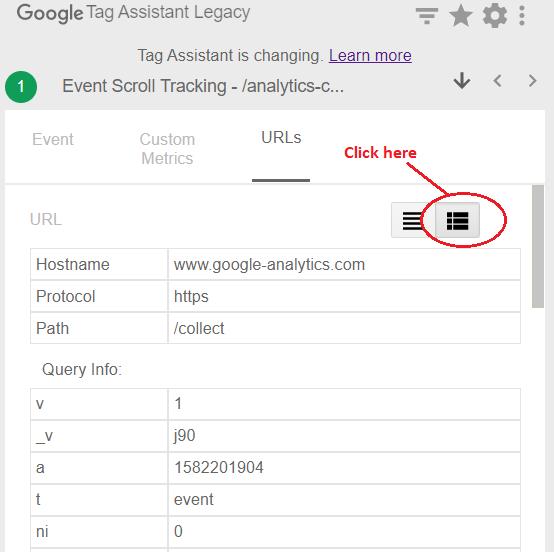 google tag assistant Tag Assistant URL