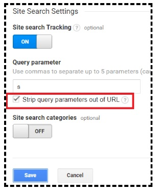 strip query parameters out of url