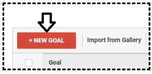 new goal button
