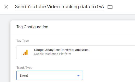 Youtube tag configuration 1