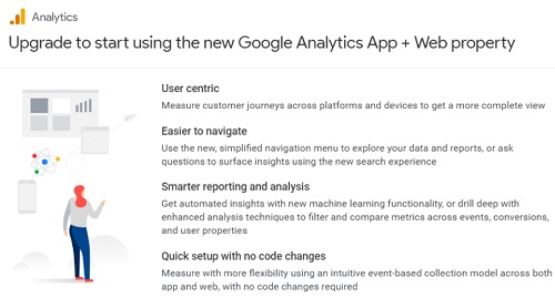 How to set up Apps and Web Property in Google Analytics