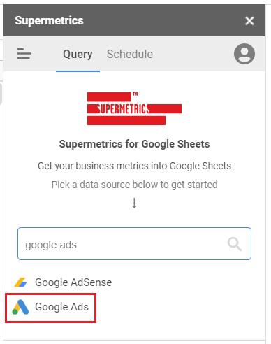 google ads option