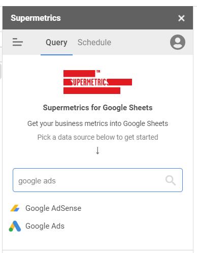 type google ads