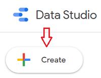 Create button data studio