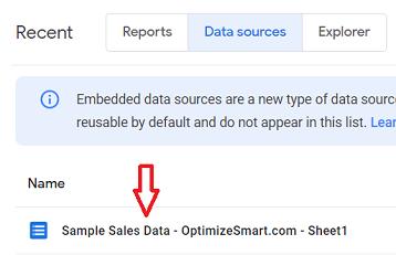 Locate your data source schema