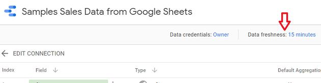 change the data freshness setting2