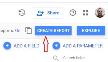 create report google data studio