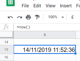 google sheets timezone conversion