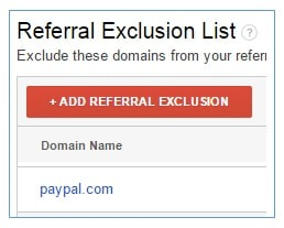 referrers payment gateways paypal referral exclusion list