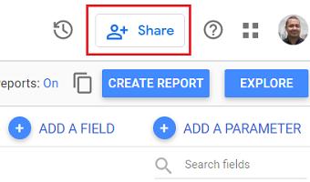 google data studio sharing