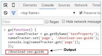 multiple trackers cross domain named tracker data