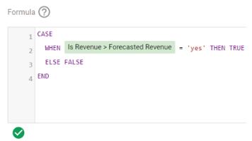 valid formula google data studio